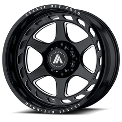 Asanti Wheels AB816 - Gloss Black Milled