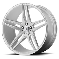 Asanti Wheels ABL-13 Vega - Brushed Silver with Carbon Fiber Insert Rim - 22x9