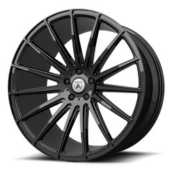 Asanti Wheels ABL-14 Polaris - Gloss Black Rim - 22x9