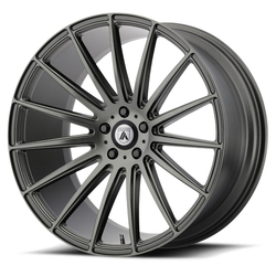 Asanti Wheels ABL-14 Polaris - Matte Graphite Rim - 22x9