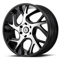 Asanti Wheels ABL-16 - Gloss Black Machined - 24x9