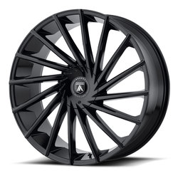 Asanti Wheels ABL-18 Matar - Gloss Black Rim - 24x9
