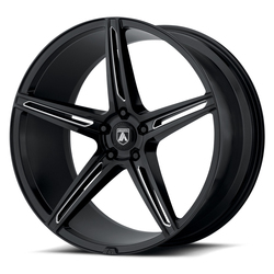 Asanti Wheels ABL-22 Alpha 5 - Gloss Black Milled
