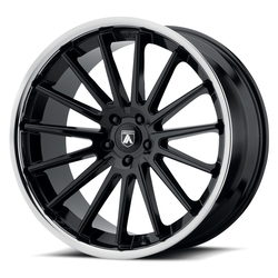 Asanti Wheels ABL-24 Beta - Gloss Black Chrome Lip - 24x9
