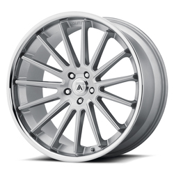 Asanti Wheels ABL-24 Beta - Brushed Silver Chrome Lip - 24x9