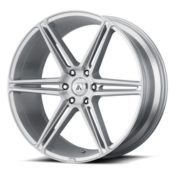 Asanti Wheels ABL-25 Alpha 6 - Brushed Silver