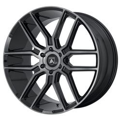 Asanti Wheels ABL-28 - Gloss Black/Gray Tint Rim