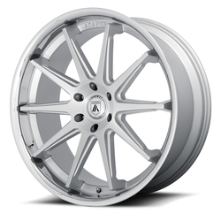 Asanti Wheels ABL-29 - Brushed Silver / Chrome Lip Rim