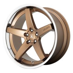 Asanti Wheels ABL-31 Regal - Satin Bronze W/ Chrome Lip Rim