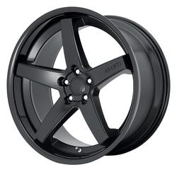 Asanti Wheels ABL-31 Regal - Satin Black W/ Gloss Black Lip Rim