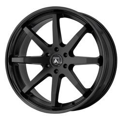 Asanti Wheels ABL-32 Kaiser - Satin Black with Black Lip Rim