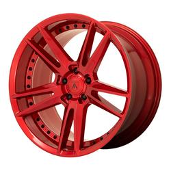 Asanti Wheels ABL-33 Reign - Candy Red Rim