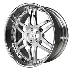 Asanti Wheels AF116 - Custom Finishes Rim - 20x15.5