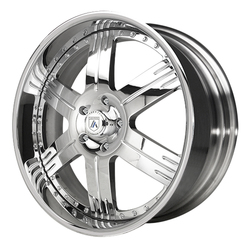 Asanti Wheels AF117 - Custom Finishes Rim - 20x15.5