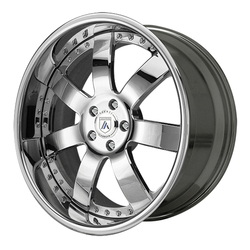 Asanti Wheels AF121 - Custom Finishes Rim - 20x15.5
