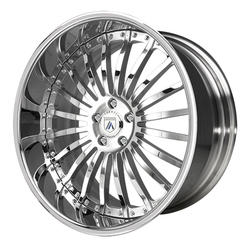 Asanti Wheels AF122 - Custom Finishes Rim - 20x15.5