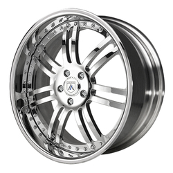 Asanti Wheels AF123 - Custom Finishes Rim - 20x15.5