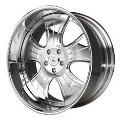 Asanti Wheels AF124 - Custom Finishes Rim - 20x15.5
