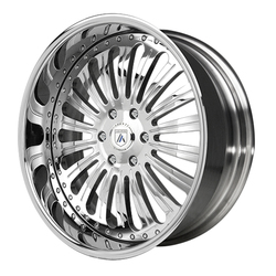Asanti Wheels AF125 - Custom Finishes Rim - 20x15.5