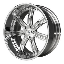 Asanti Wheels AF126 - Custom Finishes Rim - 20x15.5