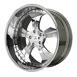 Asanti Wheels AF127 - Custom Finishes Rim - 20x15.5