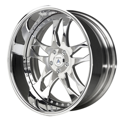 Asanti Wheels AF129 - Custom Finishes Rim - 20x15.5