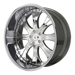 Asanti Wheels AF131 - Custom Finishes Rim - 20x15.5