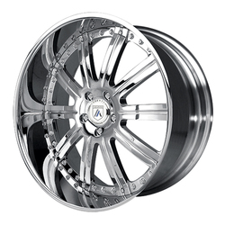 Asanti Wheels AF134 - Custom Finishes Rim - 20x15.5