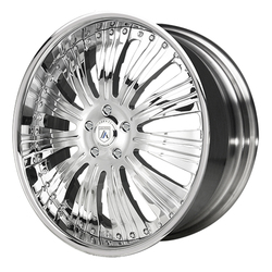 Asanti Wheels AF136 - Custom Finishes Rim - 20x15.5