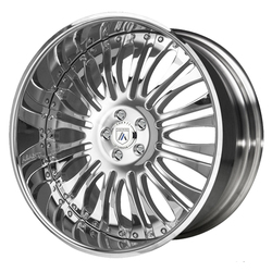 Asanti Wheels AF137 - Custom Finishes Rim - 22x12.5
