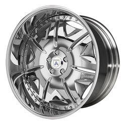 Asanti Wheels AF139 - Custom Finishes Rim - 20x15.5