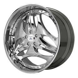 Asanti Wheels AF141 - Custom Finishes Rim - 20x15.5