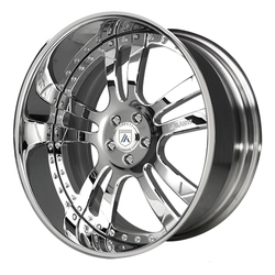 Asanti Wheels AF142 - Custom Finishes Rim - 20x15.5