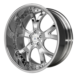 Asanti Wheels AF143 - Custom Finishes Rim - 20x15.5