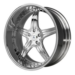 Asanti Wheels AF144 - Custom Finishes Rim - 20x15.5
