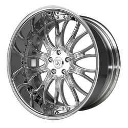 Asanti Wheels AF145 - Custom Finishes Rim - 20x15.5