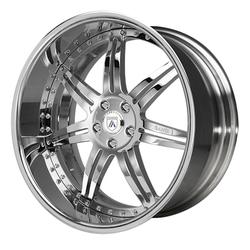 Asanti Wheels AF146 - Custom Finishes Rim - 22x12.5