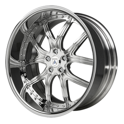 Asanti Wheels AF150 - Custom Finishes Rim - 20x15.5