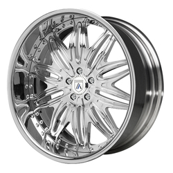 Asanti Wheels AF151 - Custom Finishes Rim - 20x15.5