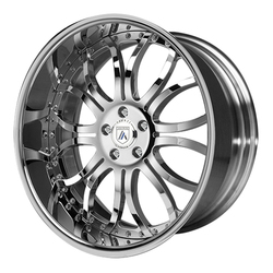 Asanti Wheels AF152 - Custom Finishes Rim - 20x15.5
