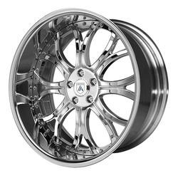 Asanti Wheels AF154 - Custom Finishes Rim - 22x12.5