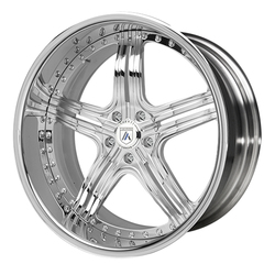 Asanti Wheels AF155 - Custom Finishes Rim - 20x15.5