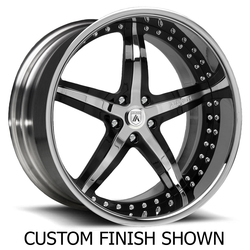 Asanti Wheels AF156 - Custom Finishes Rim - 22x12.5