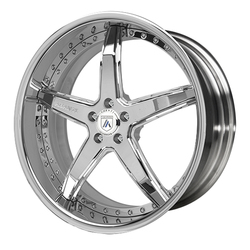 Asanti Wheels AF157 - Custom Finishes Rim - 20x15.5