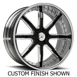 Asanti Wheels AF158 - Custom Finishes Rim - 20x15.5