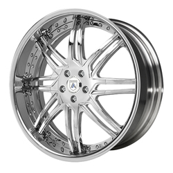 Asanti Wheels AF163 - Custom Finishes Rim - 24x14.5