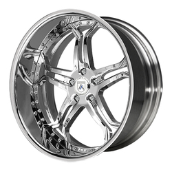 Asanti Wheels AF173 - Custom Finishes Rim - 20x15.5
