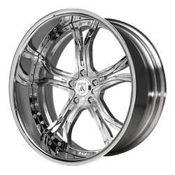 Asanti Wheels AF176 - Custom Finishes Rim - 20x15.5