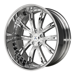 Asanti Wheels AF177 - Custom Finishes Rim - 20x15.5