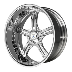 Asanti Wheels AF178 - Custom Finishes Rim - 20x15.5